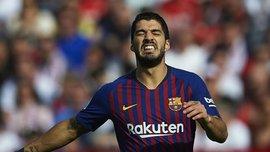 Суарес вдруге поспіль не потрапив до заявки Барселони – показове приниження від Кумана триває