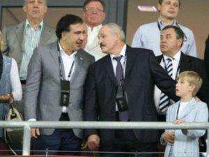 Лукашенко на фіналі Євро-2012