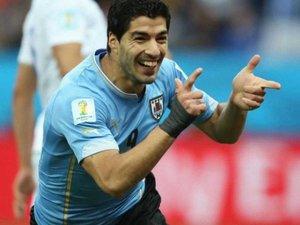 """Суарес - приборкувач """"левів"""". Уругвай - Англія - 2:1"""