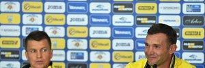 Шевченко: Збірна України розглядає можливість потрапляння на Євро-2020 через Лігу Націй