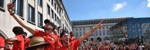 ЧС-2018: фанати Бельгії влаштували неймовірний прийом своїй команді після бронзи Мундіалю
