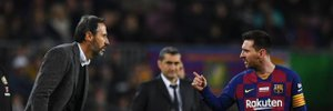Месси поссорился с тренером Мальорки прямо во время матча