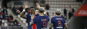Ліга 1:  ПСЖ зусиллями Ікарді впевнено переміг Реймс, Монако вдев'ятьох здолав Страсбур