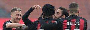 Мілан впевнено переміг Фіорентину та очолив Серію А, Спеція завдяки пенальті у компенсований час вирвала нічию у Кальярі