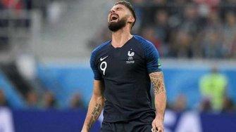 ЧМ-2018: Франция стала первым чемпионом мира, центрфорвард которого нанес ни одного удара в створ ворот