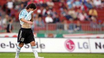 Ровно 13 лет назад Месси дебютировал за сборную и был удален через 40 секунд