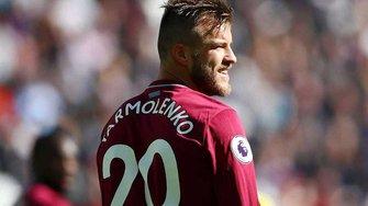 Игроки Вест Хэма креативно наказали Ярмоленко за промах в матче с Челси
