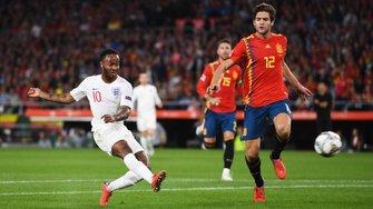 Ліга націй: Англія на виїзді впевнено перемогла Іспанію
