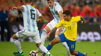 Бразилія вирвала перемогу над Аргентиною у товариському матчі