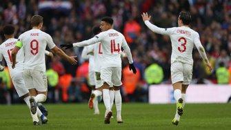 """Лига наций: Англия дожала Хорватию и вышла в плей-офф, """"клетчатые"""" вылетели в дивизион B"""
