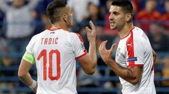 Ліга націй: Сербія обіграла Чорногорію та закріпилась на першому місці у групі