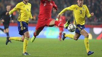 Ліга націй: Туреччина програла Швеції та вилетіла з дивізіону В
