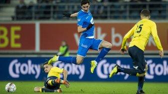 Гол Яремчука помог Генту победить Сент-Трюйден Безуса и выйти в полуфинал Кубка Бельгии