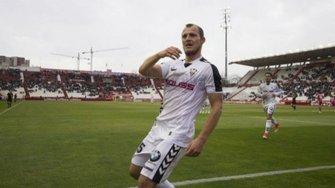 Зозуля признан лучшим игроком Альбасете в матче с Сарагосой