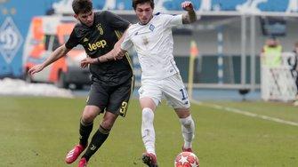 Динамо U-19 розгромило Ювентус U-19 та вийшло в 1/8 фіналу Юнацької ліги УЄФА