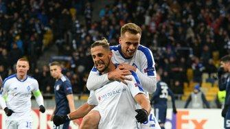Динамо – Олимпиакос: стартовые составы на матч 1/16 Лиги Европы