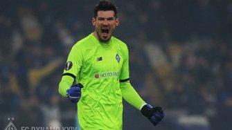 Бойко попал в символическую команды недели в Лиге Европы