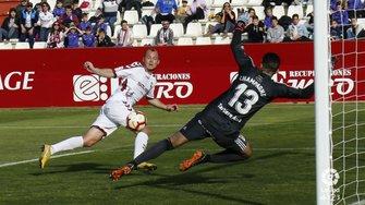 Альбасете не зміг переграти Ов'єдо – Зозуля втратив гол і отримав суперечливу дискваліфікацію на очах VIP-гостя