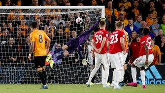 Манчестер Юнайтед и Вулверхэмптон расписали боевую ничью – Невеш забил фантастический гол, Погба не реализовал пенальти