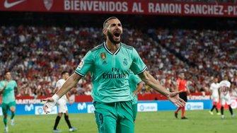 Реал здобув мінімальну перемогу над Севільєю та вийшов на друге місце в Ла Лізі