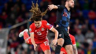 """Уельс вдома розписав нічию з Хорватією – """"картаті"""" втратили можливість оформити достроковий вихід на Євро-2020"""