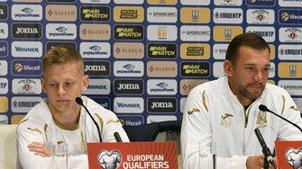 Україна – Португалія: передматчева прес-конференція Андрія Шевченка