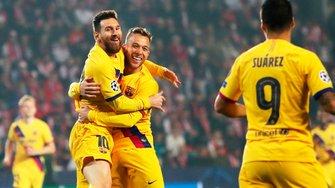 Барселона втримала важку виїзну перемогу над Славією та очолила групу F