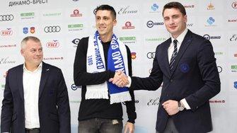 Хачеріді підписав контракт з брестським Динамо