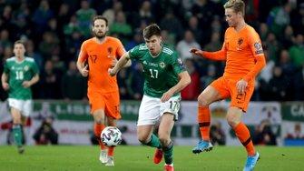 Нідерланди кваліфікувалися на Євро-2020, розписавши виїзну нічию з Північною Ірландією