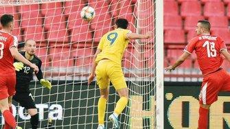 Україна в Сербії вирвала драматичну нічию завдяки Бєсєдіну, завершивши відбір Євро-2020 без поразок