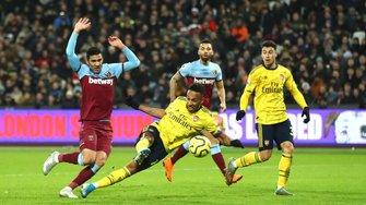 """Арсенал на виїзді переграв Вест Хем – Ярмоленко залишився поза заявкою, """"каноніри"""" здобули першу перемогу з Юнгбергом"""