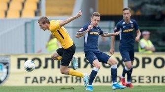 Олександрія обіграла СК Дніпро-1 в матчі з трьома пенальті та двома вилученнями