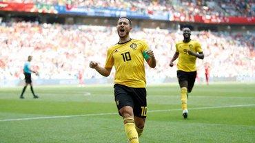 ЧС-2018 Бельгія – Туніс: гольове шоу, історичні рекорди Лукаку та вихід у плей-офф