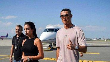 Роналду прибыл в Ювентус для прохождения медосмотра