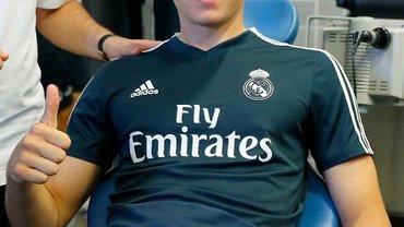 Лунин прошел медосмотр в первой команде Реала