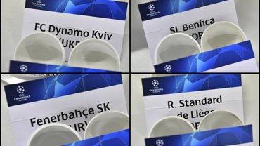 Результаты жеребьевки 3-го квалификационного раунда Лиги чемпионов