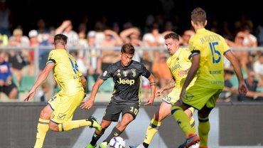 Ювентус у дебютному матчі Роналду вирвав перемогу над  К'єво