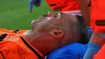 Жертва дебюта Роналду – 39-летний воспитанник Ювентуса в ужасном состоянии после встречи с КР7, а тот показал класс