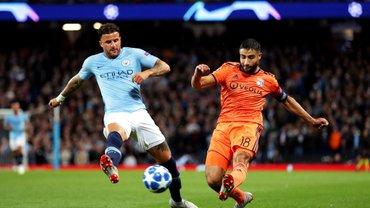 Манчестер Сити дома сенсационно уступил Лиону