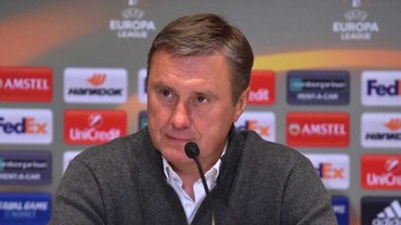 Хацкевич после матча Динамо - Астана: Вопрос отставки закрыт