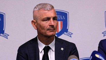 Раванеллі розкритикував президента Арсенала-Київ Піріча: Він жодного разу не був на базі