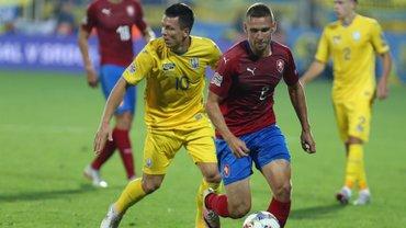 Украина – Чехия – видео гола и обзор матча