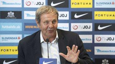 Тренер збірної Словаччини Козак подав у відставку після поразки від Чехії у Лізі націй