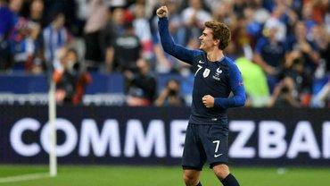Лига наций: Франция одержала волевую победу над Германией благодаря дублю Гризманна