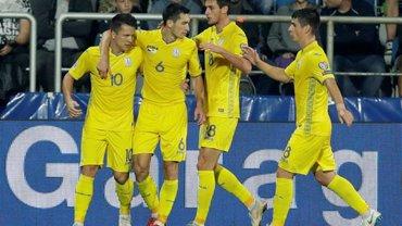 Україна за перемогу у групі Ліги націй отримає 3 млн євро