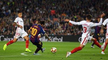 Месси покинул поле из-за травмы в матче с Севильей и может пропустить Эль Класико против Реала