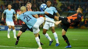 Манчестер Сіті розгромив Шахтар у матчі Ліги чемпіонів на виїзді