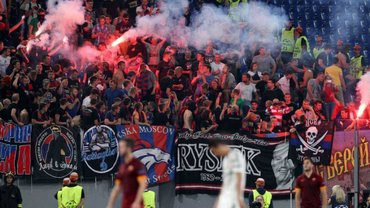 Рома – ЦСКА: несколько фанатов пострадали из-за выхода из строя эскалатора в метро, один человек остался без ноги