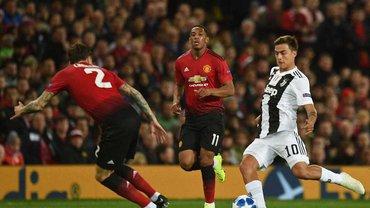Ліга чемпіонів: Ювентус на виїзді обіграв Манчестер Юнайтед, Аякс вирвав перемогу в Бенфіки
