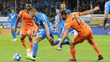 Лига чемпионов: Хоффенхайм и Лион расписали зрелищную ничью в пользу Шахтера